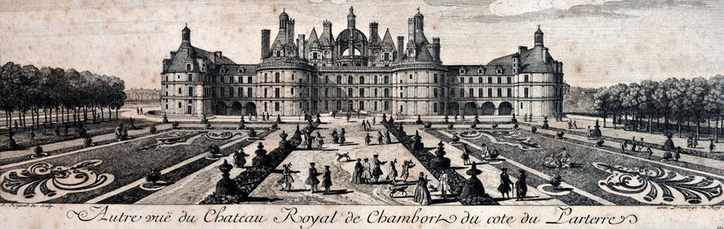 France Alumni Splendeur Retrouvee Des Jardins De Chambord
